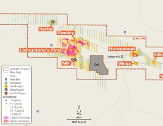 Drilling underway at the Livingstone Gold Project