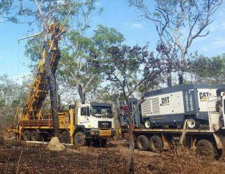 Drilling begins at Bynoe